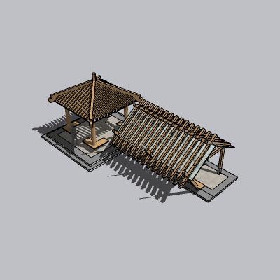 凉亭 双亭(169)
