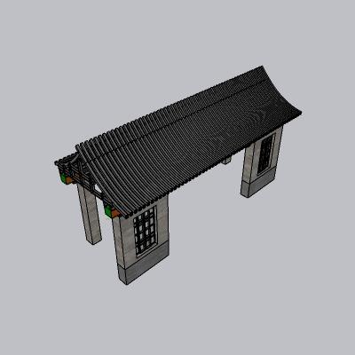 大门 造形门   (590)