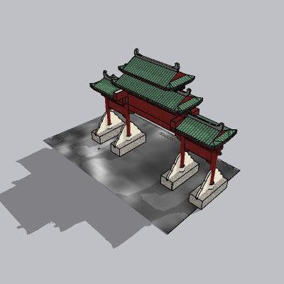 大门 造形门   (62)