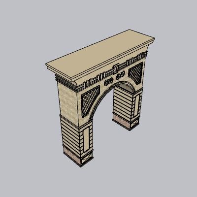 大门 造形门   (66)
