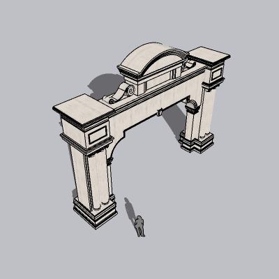 大门 造形门   (67)