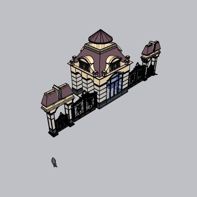 大门 造形门   (68)