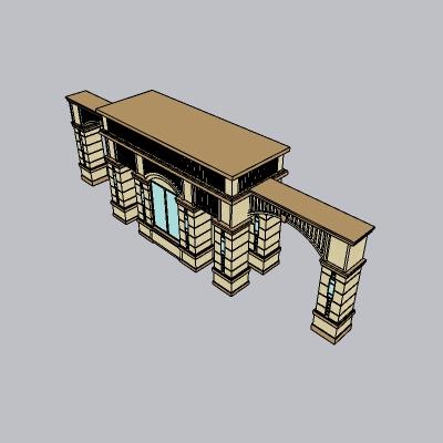 大门 造形门   (73)