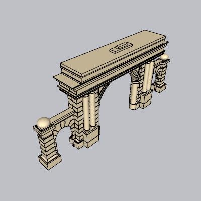 大门 造形门   (74)