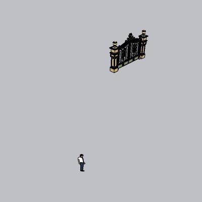 大门 造形门   (75)