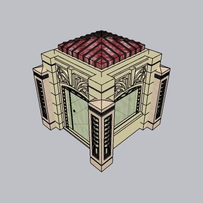 大门 造形门   (8)