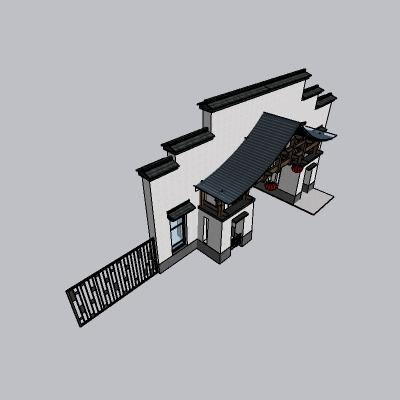 大门 造形门   (87)