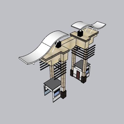 大门 造形门   (94)