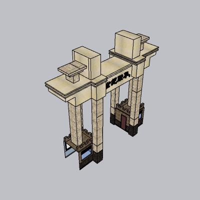 大门 造形门   (95)