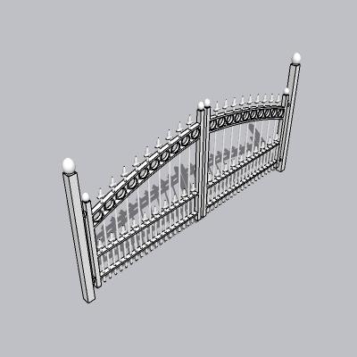 大门 造形门   (97)