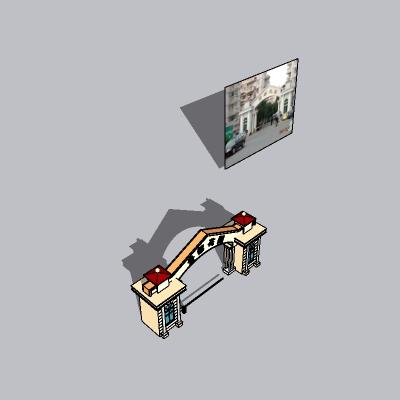 大门 造形门   (98)