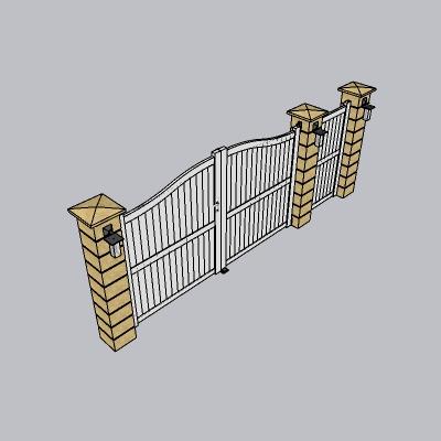 大门 造形门   (99)
