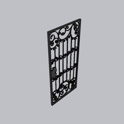 大门 铁艺门1