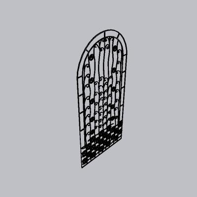 大门 铁艺门2