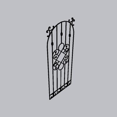 大门 铁艺门4