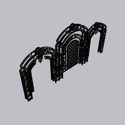 铁门 园艺门
