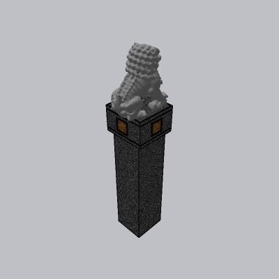 中式雕塑小品 (12)