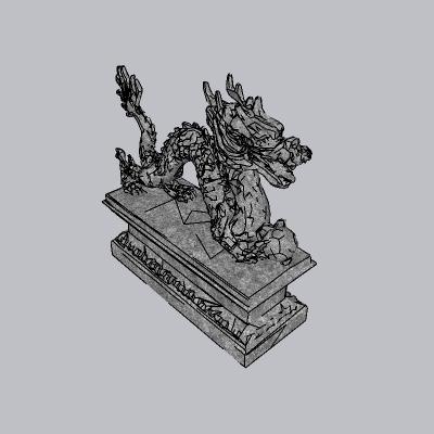 中式雕塑小品 (7)