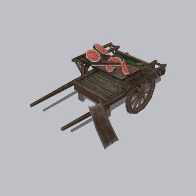 古建 手推车 (1)