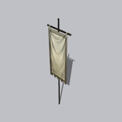 古建 杆子 桅杆2 (6)