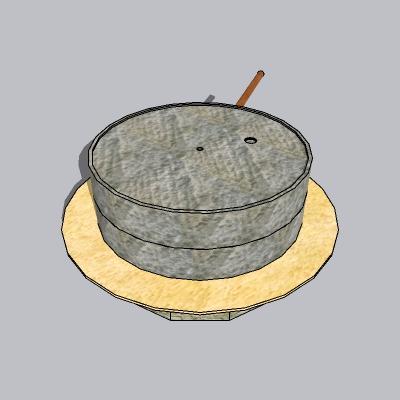 古建 石磨  (2)
