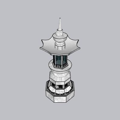 石柱 柱子1