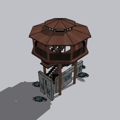 景观塔  (3)