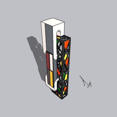 (景观台SU模型) (13)