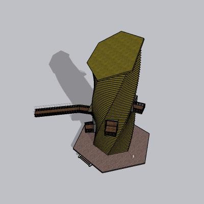 (景观台SU模型) (14)