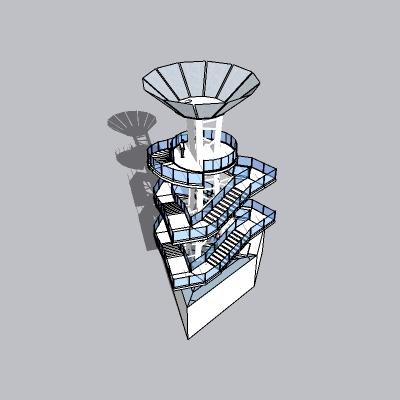 (景观台SU模型) (15)