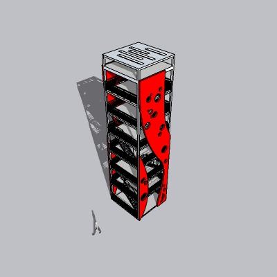 (景观台SU模型) (20)