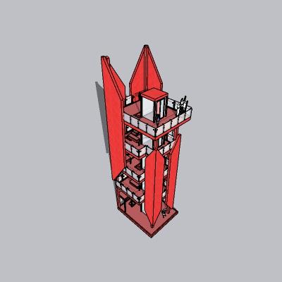 (景观台SU模型) (27)