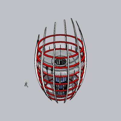 (景观台SU模型) (31)