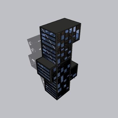 (景观台SU模型) (4)