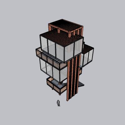 (景观台SU模型) (41)