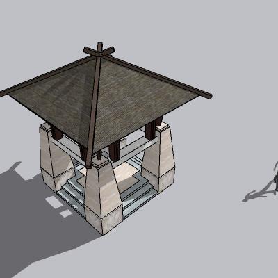 (景观台SU模型) (47)
