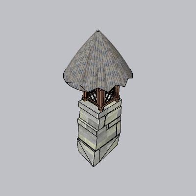 (景观台SU模型) (49)