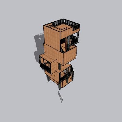 (景观台SU模型) (5)