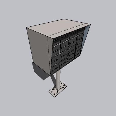 钢质信报箱