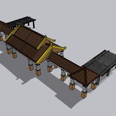 东南亚廊架 (1)