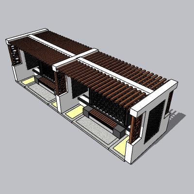 中式廊架 (116)