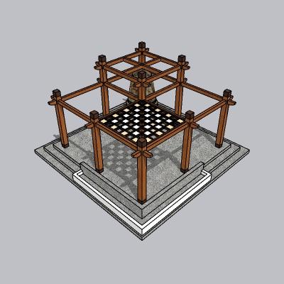 中式廊架 (117)