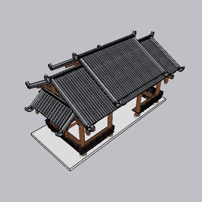 中式廊架 (16)