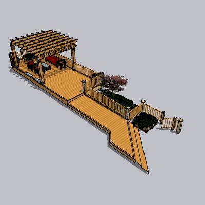 中式廊架 (24)
