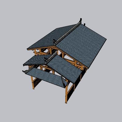 中式廊架 (33)