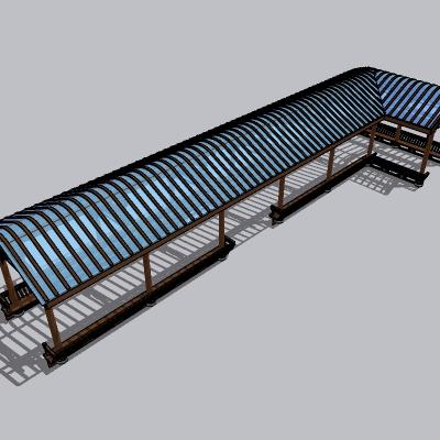 中式廊架 (36)