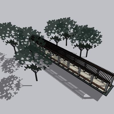 中式廊架 (37)