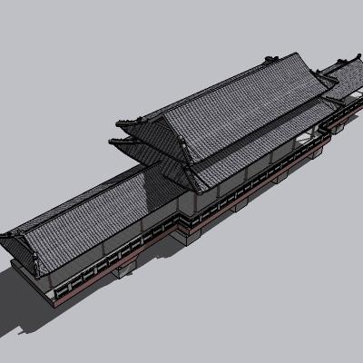 中式廊架 (38)
