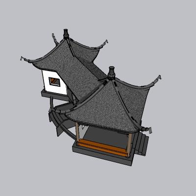 中式廊架 (39)