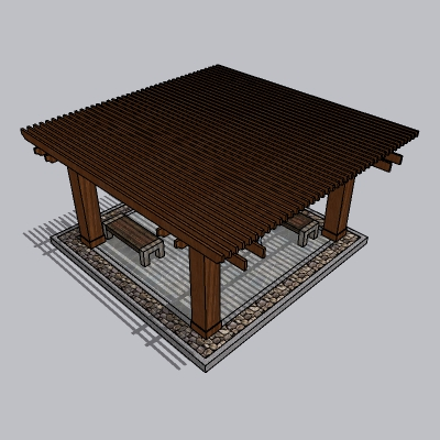 中式廊架 (41)